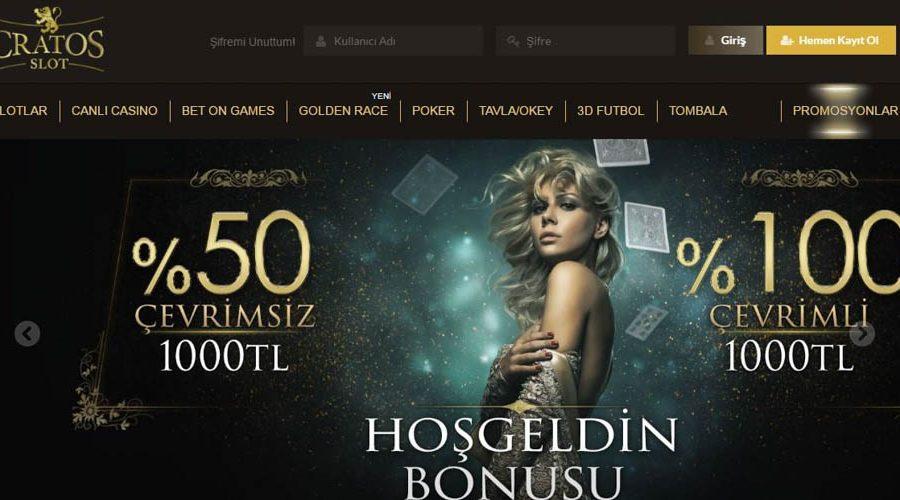 Cratosslot Bahis Sitesi bonus